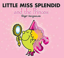 Little Miss Splendid And The Princess | Roger Hargreaves | Sparkly Book | New