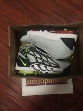 New Men's Nike Air Max Pillar Size 8.5 Neutral Grey Volt Basketball Shoes