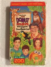 The Donut Man - At the Zoo (Prev. Viewed VHS) RARE HTF