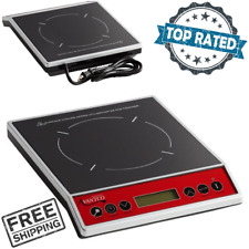 Countertop Induction Cooker Portable Digital Cooktop Electric Flameless Burner