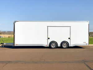2021 ATC Quest 8.5 x 24 Luxury Cargo Racing Enclosed Motorcycle Utility Trailer
