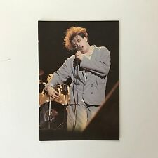 Rare Genuine 1987 The Cure Robert Smith 'Kiss Me' Unused Colour Photo Postcard