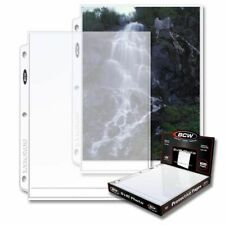 1 Case of (1000) BCW PRO 1-POCKET PHOTO PAGES - 8 X 10