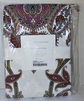 NEW Cuddledown 400 TC 100% Sateen Cotton Paisley Twin Size Duvet Cover DELAMBRE
