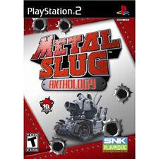 Metal Slug Anthology  PS2 Game 1 2 3 4 5 X