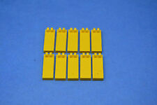 LEGO 10 x Scharniere Platte 2x1 2 Finger gelb | yellow hinge plate 4531