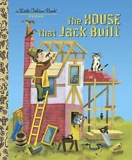 The House That Jack Built  Little Golden Book Hardcover Kids Story