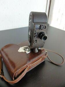 Alte Kamera Bell Howell Filmo Model 134 G Cine Camera Made in USA
