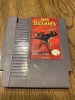 Wrath Of Black Manta (Nintendo Entertainment System NES) Cart GREAT Shape
