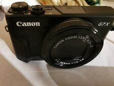 CANON POWERSHOT GX7 MARK II 20.1MP DIGITAL CAMERA MINT! W/REGISTRATION FORMS!