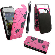 FOR SAMSUNG GALAXY ACE S5830i s5839i PU LEATHER WALLET FLIP CASE COVER 2 CASE