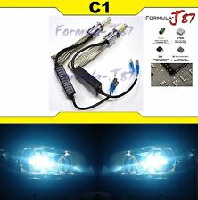 LED Kit C1 60W H3 8000K Icy Blue Two Bulbs DRL Daytime Light Cornering Replace