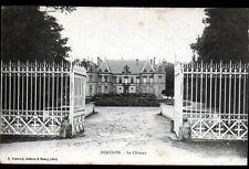 BEAULON (03) Grille en Fer forgé & Façade du CHATEAU de MONSPEY avant 1904