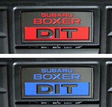 2015 2016 2017 2018 Subaru WRX engine cover Emblem inlay x2 overlay