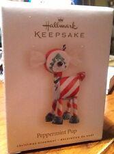 Brand New Hallmark Keepsake Pepper Pup Ornament dated - 2007 Free Shipping!