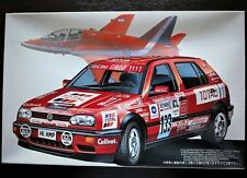 "Fujimi 1/24 VOLKSWAGEN GOLF Ⅲ Racrally '93 ""Red Arrows""  Bolt On Construction !"