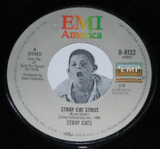 Rockabilly 45~STRAY CATS~Stray Cat Strut/ You Don't Believe me~EMI Vinyl 7""