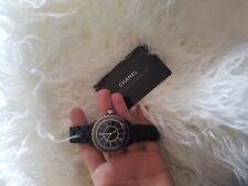 $6450 Auth Chanel J12 Matte Black Ceramic automatic Watch