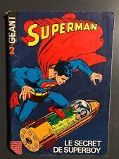 SUPERMAN GEANT (Sagedition 1ère série - V1) - T2 : octobre 1978