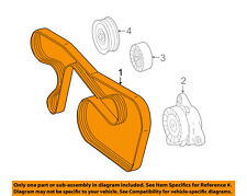 Mercedes MERCEDES-BENZ OEM 12-15 C250-Serpentine Drive Fan Belt 0019937896
