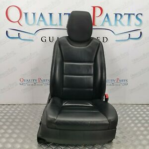 PORSCHE CAYENNE S 2002 2006 FRONT RIGHT DRIVER SIDE BLACK LEATHER SEAT