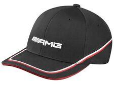 Genuine Mercedes-Benz Mens Black/Red/White AMG  Baseball Cap B66952886 NEW