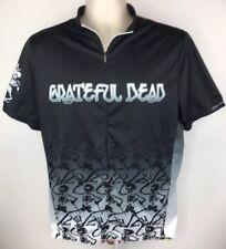 Primal Wear Mens XL Grateful Dead Skeleton Tie Dye Cycling Jersey Black  Multi 2260a3cb7