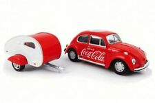 1967 Coca Cola Volkswagen Beetle  & Teardrop Trailer, 440032, 1/43 Scale Diecast