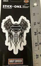 Harley davidson decal sticker silhouette wing motorcycle bike angel bar