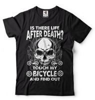 Bike T-shirt Funny Cycling Shirt Bike Riding Don't Touch My Bicycle Funny Tshirt