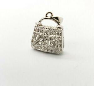 DIAMOND Bag Clip  Purse Charm