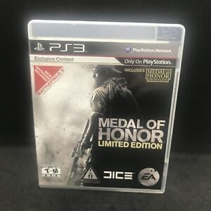 Medal of Honor (Sony Playstation 3, 2010) Ps3 - Free Shipping