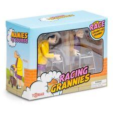 WIND UP RACING GRANNIES - 27469 CLOCKWORK CLASSIC ZIMMER FRAME RACE KIDS FUN TOY
