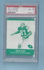 1961 Packers Lake to Lake #3 Willie Davis SP Grambling - PSA 8 !