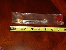 """Oneida Heirloom Grandeur Sterling Silver Pickle Fork - 5 1/4"""" - 15g - No Monos"""