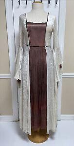 Vintage LIP SERVICE Medieval Renaissance Dress Costume Crushed Velvet Size 2X