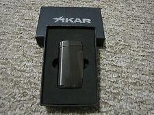 Xikar Executive Lighter - G2 Gunmetal - Single Torch Flame 502G2 - New