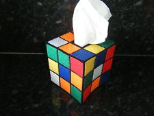 RUBIK'S CUBE BIG  BANG THEORY TISSUE BOX COVER-US TV-RUBIX TBBT-RUBIC