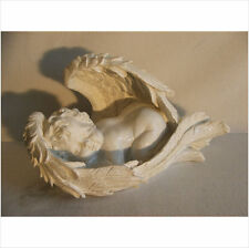LATEX MOULD MOULDS MOLD.       SLEEPING BABY CHERUB IN WINGS