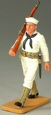 King & Country U.S. Navy Usn005 Sailor Marching With Rifle Mib