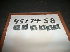 NOS 1971 1972 1973 FORD MUSTANG OR MACH 1 DASH PANEL MOUNTING CLIPS SET 6x OEM