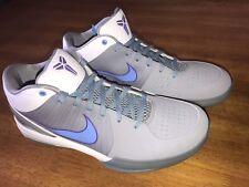 09 Nike Zoom KOBE IV 4 MINNEAPOLIS MPLS STEALTH GREY/BLUE/WHITE/PURPLE SIZE 11