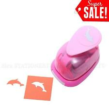 "1""inch dolphin 3 Paper Craft Punch Craft Supplies Puncher Scrapbooking Cards New"