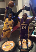 Enterbay LA Lakers Masterpiece Kobe Bryant 1/6 Scale Dual Collector Figures 8&24