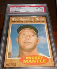 1962 TOPPS MICKEY MANTLE  #471 PSA 6* RARE CENTERING THIS CARD