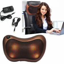 Relax Massage Pillow Electric Massager Heat Neck /Back /Shoulder Cushion Machine