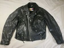 Rare Vintage Schott Perfecto Size 44 Leather Jacket Motorcycle Neegan