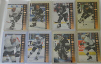 1994-95 Upper Deck UD SP Inserts Los Angeles Kings Team Set 8 Hockey Cards