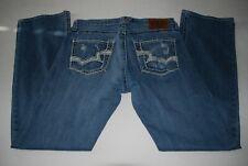 MINT Big Star for Buckle Orion Pioneer Regular Bootcut Men's Blue Jeans 33L