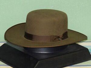 STETSON AUSTRAL 4X FELT OLD WEST COWBOY WESTERN HAT